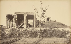 Buddhist pillared temple at Nair, [from the east].
